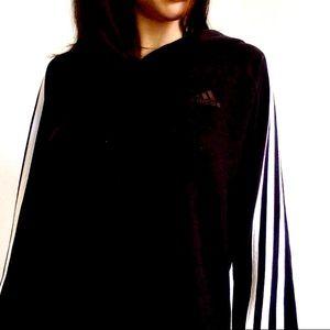 !Classic striped adidas hoodie!